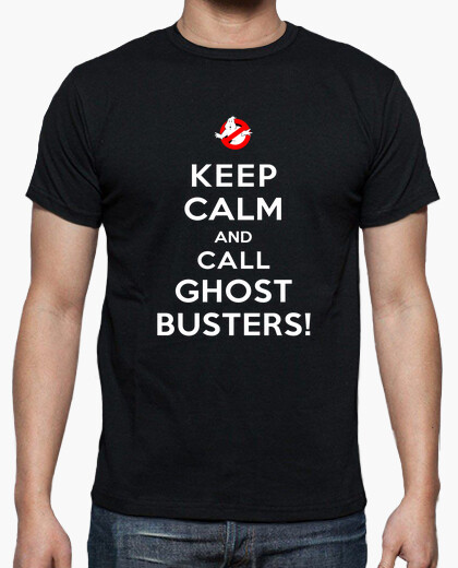 Men or Women Keep Calm and Call Ghostbusters - S to 5XL