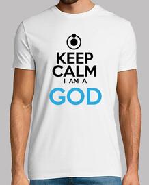 Keep calm i am a god