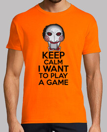 keep calm i want to play