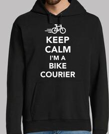 keep calm im a bike courier