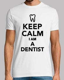 keep calm im a dentist