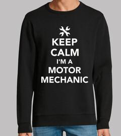 keep calm im a motor mechanic