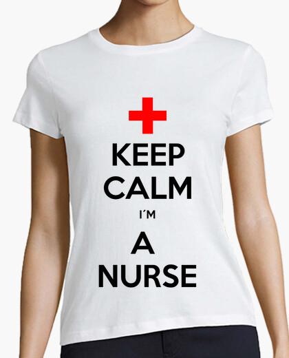 Camiseta KEEP CALM IM A NURSE