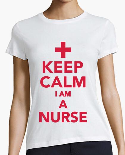 Tee-shirt Keep Calm I'm a Nurse