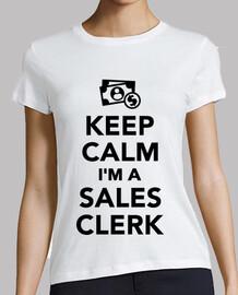 Keep Calm I'm a Sales Clerk