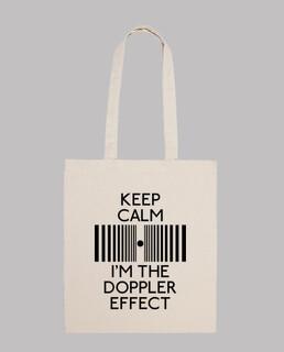 keep calm im den doppler - effect