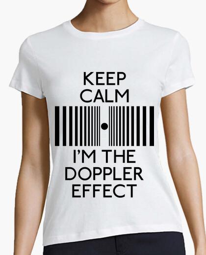 T-shirt keep calm im il doppler effect