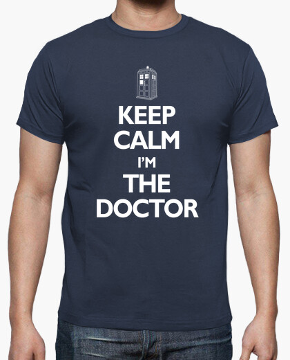 T-shirt keep calm im il dottore