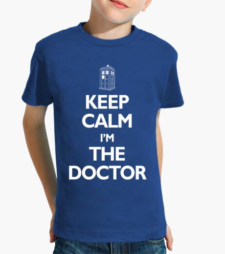 Ropa infantil KEEP CALM IM THE DOCTOR