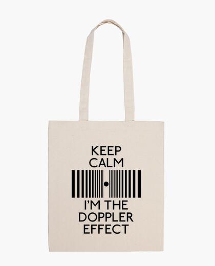 Bolsa Keep calm I'm the Doppler effect