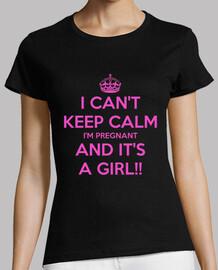keep calm it's a girl woman