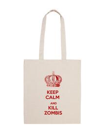 keep calm kill zombis