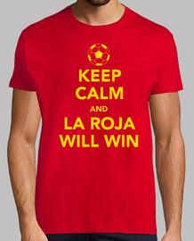 Keep Calm La Roja