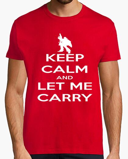 Camiseta Keep Calm Let Me Carry