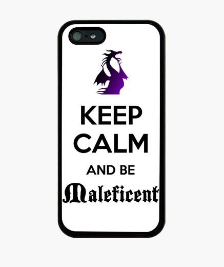 Funda iPhone Keep calm Maléfica iPhone