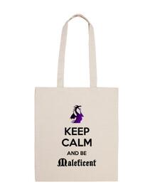 Keep calm Maléfica negro