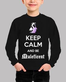 Keep calm Málefica niño