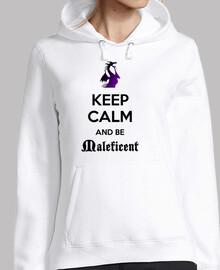 Keep calm Maléfica sudadera