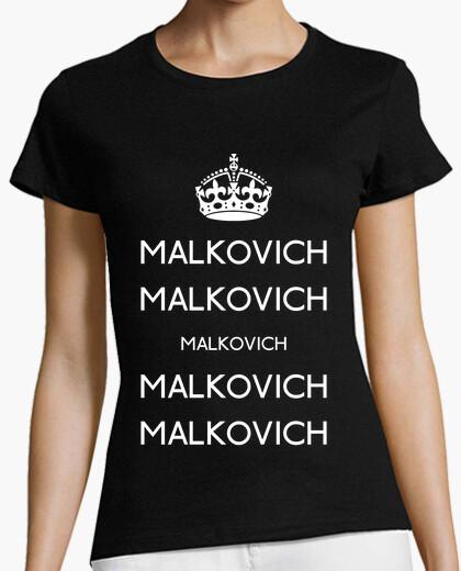 Keep calm malkovich t-shirt