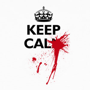 Tee-shirts Keep Calm OUCH!