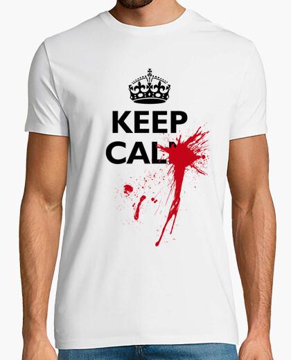 Keep calm ouch! t-shirt