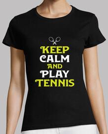 Keep calm play tennis