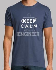 keep calm, sono un ingegnere