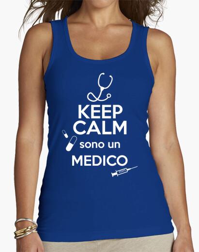 T-shirt Keep Calm sono un Medico