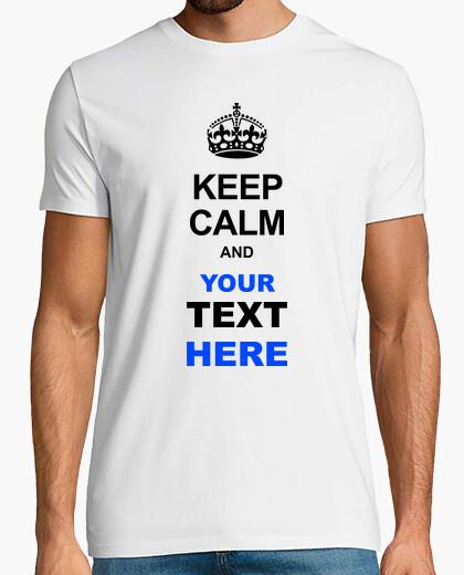 Camiseta KEEP CALM T-SHIRTS