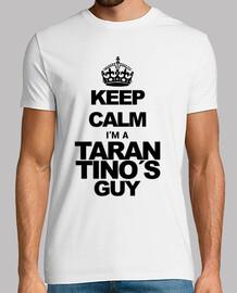 Keep calm. Tarantino (black)