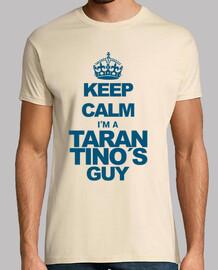 Keep calm. Tarantino (cyan)
