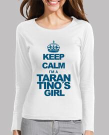 Keep Calm Tarantino (Cyan, Femme)