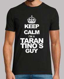 Keep calm. Tarantino (white)