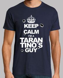 Keep Calm. Tarantino (White whit shots)