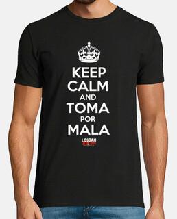 Keep Calm toma por mala