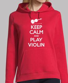 keep calm und Geige