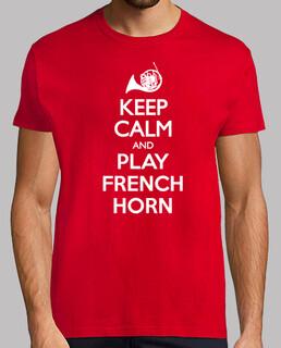 keep calm und Waldhorn