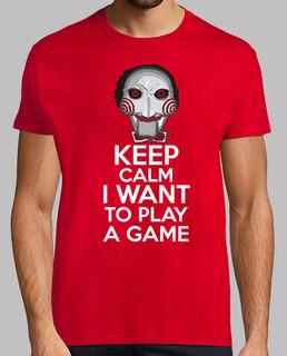 keep calm voglio giocare