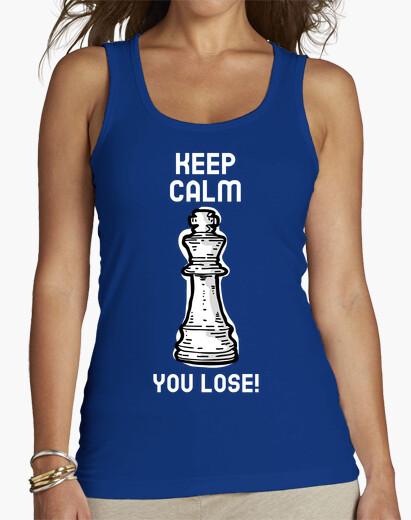 Camiseta Keep calm, you lose