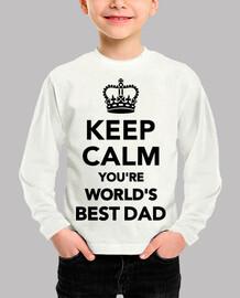 Keep calm you're world's best da