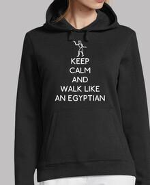 keep calma e di camminare like un egizi