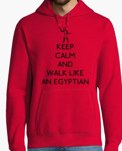 Felpe keep calma e di camminare like un egizi