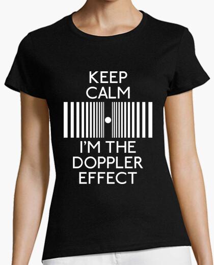 T-shirt keep calma io sono il doppler effect