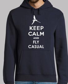 Keep Calmd and Fly Casual