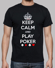 Keep Clam and Play Poker MC