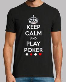 Keep Clam and Play Poker MC