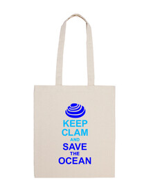 Keep clam and save the oceans