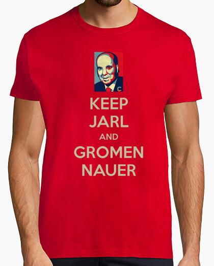 Camiseta Keep Jarl and Gromen Nauer