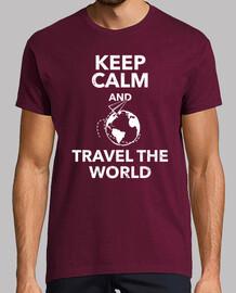 keep la calma e travel il world