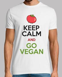 keep le and calm and aller végétalien